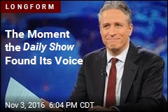 The Moment the Daily Show Found Its Voice