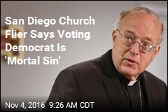 Diocese Clarifies: Voting Democrat Isn't a 'Mortal Sin'