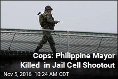 Philippine Cops: Drug-Linked Mayor Killed in Jail Shootout