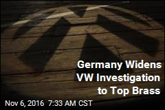 Germany Widens VW Investigation to Top Brass