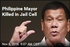 Philippine Mayor Killed in Jail Cell