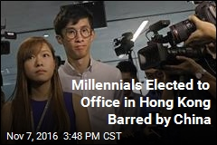 Millennials Elected to Office in Hong Kong Barred by China