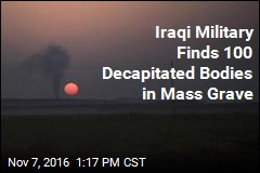 Iraqi Military Finds 100 Decapitated Bodies in Mass Grave