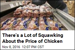 There's a Lot of Squawking About the Price of Chicken