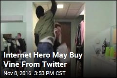 Internet Hero May Buy Vine From Twitter