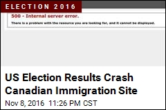 Americans May Have Crashed Canadian Immigration Site
