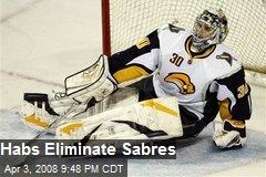 Habs Eliminate Sabres