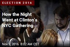 How the Night Went at Clinton's NYC Gathering
