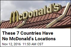 7 Countries Where You Can't Get a Big Mac