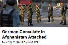 German Consulate in Afghanistan Attacked