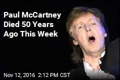 Paul McCartney Died 50 Years Ago This Week