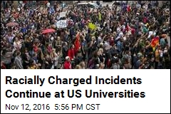 Racially Charged Incidents Continue at US Universities