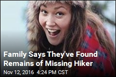 Family Says They've Found Remains of Missing Hiker