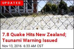 7.4 Quake Hits New Zealand Near Area Devastated in '11