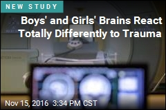 Boys' and Girls' Brains React Totally Differently to Trauma