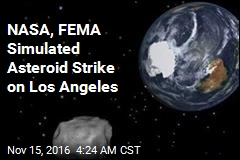 NASA, FEMA Simulated Asteroid Strike on LA