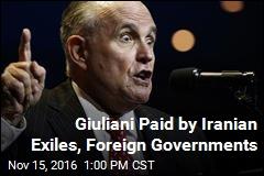 Trump's Frontrunner for SecState: Giuliani