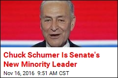 Chuck Schumer Is Senate's New Minority Leader