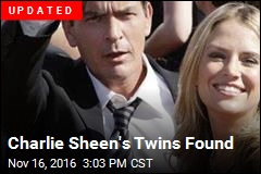 Police Searching for Charlie Sheen's Twins