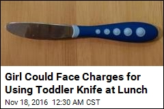 Girl, 11, Suspended for Bringing Toddler Knife to School