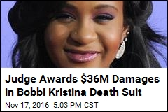 Boyfriend Ordered to Pay $36M Damages in Bobbi Kristina Suit