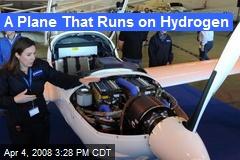 A Plane That Runs on Hydrogen
