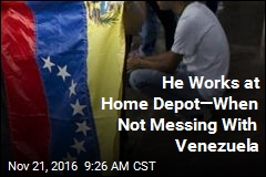 Home Depot Worker Waging 'Economic War' Against Venezuela