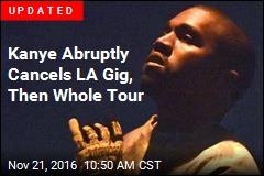 Kanye Abruptly Cancels LA Gig