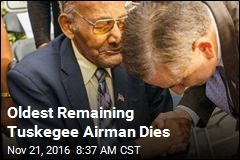 Oldest Remaining Tuskegee Airman Dies