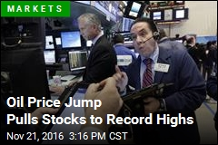 Oil Price Jump Pulls Stocks to Record Highs