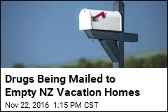 Drugs Being Mailed to Empty NZ Vacation Homes