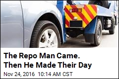 The Repo Man Came. Then He Made Their Day