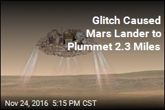 Glitch Caused Mars Lander to Plummet 2.3 Miles