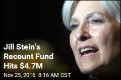 Jill Stein's Recount Fund Hits $4.7M