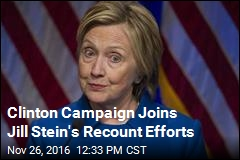 Clinton Campaign Joins Jill Stein's Recount Efforts