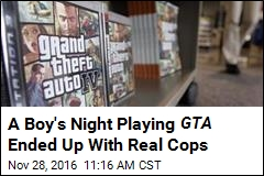 Cops: 11-Year-Old Played GTA , Stole Family Car
