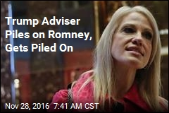 Conway in Hot Seat After Romney Attack