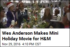 Wes Anderson Makes Mini Holiday Movie for H&M