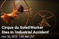 Cirque du Soleil 'Luzia' Worker Dies in SF Accident