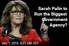 Sarah Palin 'Being Considered for VA Secretary'