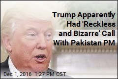 What Trump Reportedly Said in Call to 'Terrific' Pakistani PM