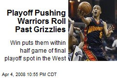 Playoff Pushing Warriors Roll Past Grizzlies
