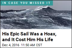 His Epic Sail Was a Hoax, and It Cost Him His Life