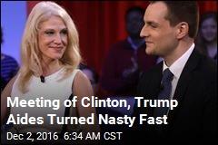 Clinton, Trump Strategists Clash at Post-Election Forum