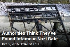 Gate Stolen From Concentration Camp Likely Found in Norway