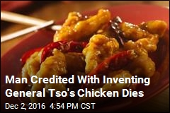 Man Credited With Inventing General Tso's Chicken Dies