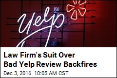 Yelper Defeats Bad Law Firm's Bad Lawsuit