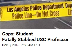 Cops: Student Fatally Stabbed USC Professor