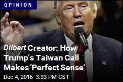 Scott Adams: How Trump's Taiwan Call Makes 'Perfect Sense'