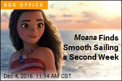 Moana Finds Smooth Sailing a Second Week